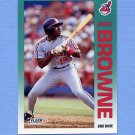 1992 Fleer Baseball #107 Jerry Browne - Cleveland Indians