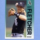 1992 Fleer Baseball #080 Scott Fletcher - Chicago White Sox