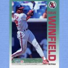 1992 Fleer Baseball #072 Dave Winfield - California Angels