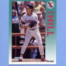 1992 Fleer Baseball #060 Donnie Hill - California Angels