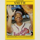 1991 Fleer Baseball #702 Lonnie Smith - Atlanta Braves