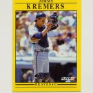 1991 Fleer Baseball #694 Jimmy Kremers - Atlanta Braves