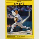 1991 Fleer Baseball #462 Bill Swift - Seattle Mariners