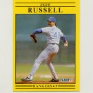 1991 Fleer Baseball #300 Jeff Russell - Texas Rangers