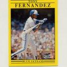 1991 Fleer Baseball #174 Tony Fernandez - Toronto Blue Jays