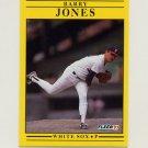1991 Fleer Baseball #124 Barry Jones - Chicago White Sox