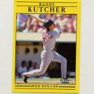 1991 Fleer Baseball #100 Randy Kutcher - Boston Red Sox
