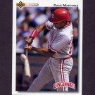 1992 Upper Deck Baseball #784 Dave Martinez - Cincinnati Reds
