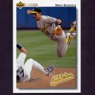 1992 Upper Deck Baseball #727 Mike Bordick - Oakland A's