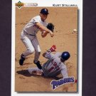 1992 Upper Deck Baseball #705 Kurt Stillwell - San Diego Padres