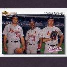 1992 Upper Deck Baseball #702 Mark Clark / Donovan Osborne / Brian Jordan - St. Louis Cardinals