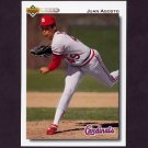 1992 Upper Deck Baseball #693 Juan Agosto - St. Louis Cardinals