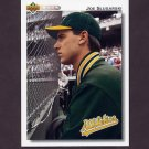 1992 Upper Deck Baseball #663 Joe Slusarski - Oakland A's