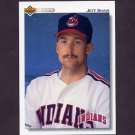 1992 Upper Deck Baseball #660 Jeff Shaw - Cleveland Indians