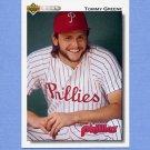 1992 Upper Deck Baseball #567 Tommy Greene - Philadelphia Phillies