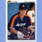 1992 Upper Deck Baseball #561 Scott Servais - Houston Astros