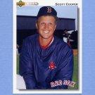 1992 Upper Deck Baseball #541 Scott Cooper - Boston Red Sox