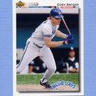 1992 Upper Deck Baseball #504 Cory Snyder - Toronto Blue Jays