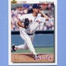 1992 Upper Deck Baseball #503 Tony Fossas - Boston Red Sox