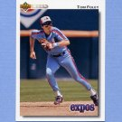 1992 Upper Deck Baseball #492 Tom Foley - Montreal Expos