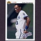 1992 Upper Deck Baseball #348 Terry Shumpert - Kansas City Royals