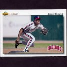 1992 Upper Deck Baseball #340 Jerry Browne - Cleveland Indians