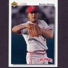 1992 Upper Deck Baseball #278 Randy Myers - Cincinnati Reds