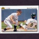 1992 Upper Deck Baseball #186 Scott Fletcher - Chicago White Sox