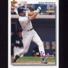 1992 Upper Deck Baseball #139 Jesse Barfield - New York Yankees