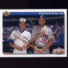 1992 Upper Deck Baseball #081 Bloodlines Roberto Alomar / Sandy Alomar Jr.