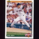 1992 Upper Deck Baseball #071 Jeff Plympton TP - Boston Red Sox