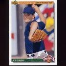 1992 Upper Deck Baseball #067 Joey Hamilton RC - San Diego Padres