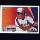 1992 Upper Deck Baseball #036 The Montreal Expos Team Checklist / Delino DeShields