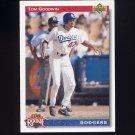 1992 Upper Deck Baseball #020 Tom Goodwin SR - Los Angeles Dodgers