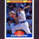 1989 Score Baseball #621 Doug Dascenzo - Chicago Cubs
