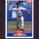 1989 Score Baseball #591 Jon Perlman - Cleveland Indians