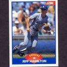 1989 Score Baseball #570 Jeff Hamilton - Los Angeles Dodgers