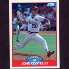 1989 Score Baseball #534 John Costello - St. Louis Cardinals