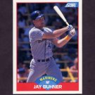 1989 Score Baseball #530 Jay Buhner - Seattle Mariners