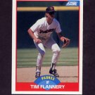 1989 Score Baseball #513 Tim Flannery - San Diego Padres