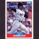 1989 Score Baseball #508 Dennis Lamp - Boston Red Sox