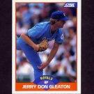 1989 Score Baseball #423 Jerry Don Gleaton - Kansas City Royals