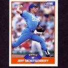 1989 Score Baseball #367 Jeff Montgomery - Kansas City Royals
