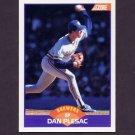 1989 Score Baseball #320 Dan Plesac - Milwaukee Brewers
