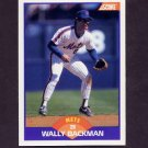 1989 Score Baseball #315 Wally Backman - New York Mets