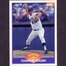 1989 Score Baseball #295 Charlie Hough - Texas Rangers