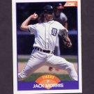 1989 Score Baseball #250 Jack Morris - Detroit Tigers
