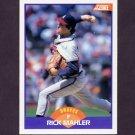 1989 Score Baseball #229 Rick Mahler - Atlanta Braves
