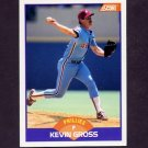 1989 Score Baseball #227 Kevin Gross - Philadelphia Phillies