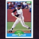 1989 Score Baseball #216 Brett Butler - San Francisco Giants